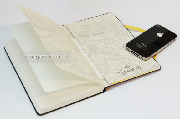 Moleskine Simpsons
