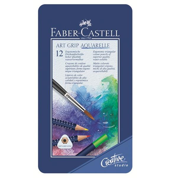 Акварельные карандаши Faber-Castell Art GRIР (12 цветов)