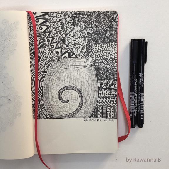 Рисунок линером