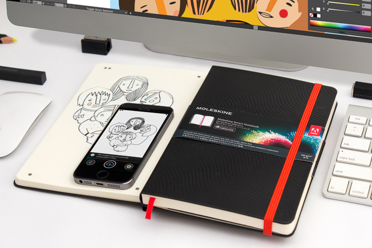 Moleskine Adobe Smart Notebook