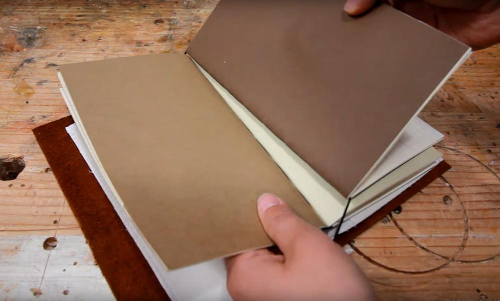 Как красиво сделать блокнот своими руками 54