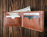 Бумажник EEDLE Wallet Blue-Tobacco