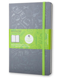 Блокнот Moleskine Evernote Evernote Smart Notebook (средний, серый, в линию)