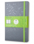 Блокнот Moleskine Evernote Evernote Smart Notebook (средний, серый, в клетку)