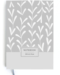 Блокнот Gifty Write&Draw. White Leaves