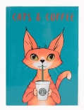 "Планер Kraft Mini ""Cats and Coffee"""