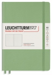 Блокнот Leuchtturm1917 Muted Colours Sage в точку (средний)