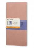 Тетрадь Moleskine Chapters Medium Slim Old Rose (карманная+, в точку)