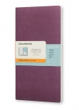 Тетрадь Moleskine Chapters Medium Slim Plum Purple (карманная+, в точку)