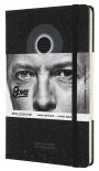 Блокнот Moleskine David Bowie Black (средний, в линию)