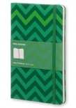 Блокнот Moleskine Decorated Chevron (средний, в линию)