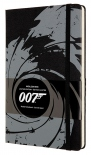 Блокнот Moleskine James Bond Black (средний, в линию)