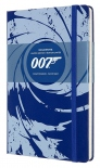 Блокнот Moleskine James Bond Blue (средний, в линию)