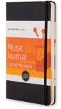 Moleskine Passions Music Journal (Книга музыки)