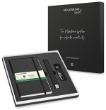 Набор Moleskine Smart Writing Ellipse (Smart Pen + Paper Tablet нелинованный, черный)
