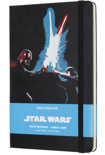 Блокнот Moleskine Star Wars Lightsaber Duel New (средний, в линию)