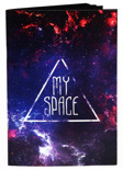 Скетчбук Kraft My Space (черные листы)