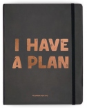"Планер Orner ""I have a plan"" English Edition (черный)"