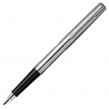 Перьевая ручка Parker Jotter Stainless Steel​​​​​​​ CT F (сталь/хром)