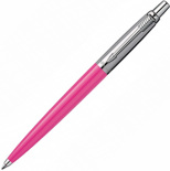 Ручка Parker Jotter 60 Years Laque Pink  BP (розовый/сталь)