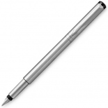 Перьевая ручка Parker Vector Stainless Steel CT F New (сталь/хром)