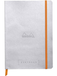 Блокнот Rhodia Goalbook A5 (серебристый, страницы в точку)