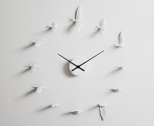 Настенные часы Haoshi Design Swallow (Ласточки) - купить в ... Гривен Символ