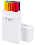 Набор брашпенов Tombow ABT Dual Brush Pen Primary colour set (18 цветов)